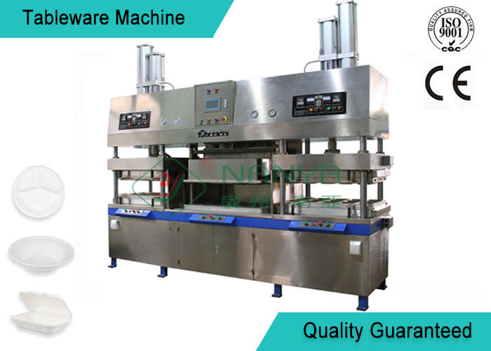 Easy Operating Wood Fiber Paper Plate Manufacturing Machine Semi Automatic