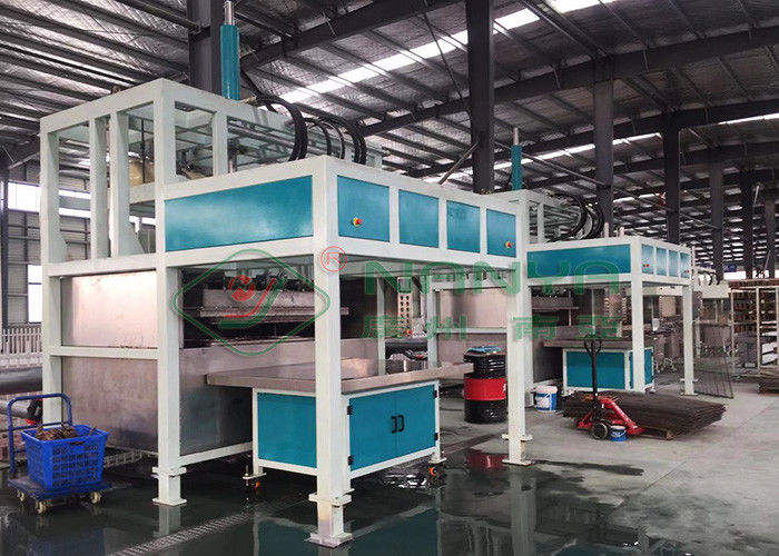 OEM Pulp Egg Tray Making Machine , Automated Paper Pulp Moulding Machine