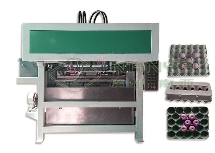 High Capacity Egg Carton Making Machine / Automatic Egg Tray Machinery