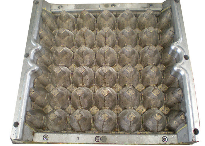 Customizable Moulding Pulp Copper 30 Cavities Egg Tray Molds / Dies