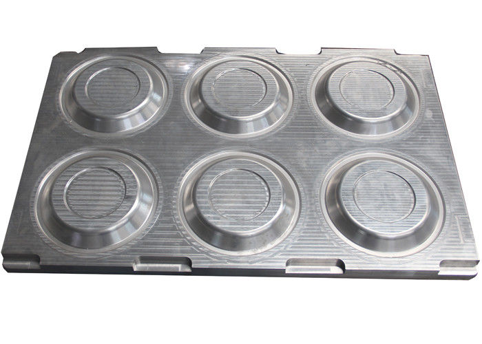 Aluminum Pulp Molding Dies , Disposable Tableware / Dishware Moulds