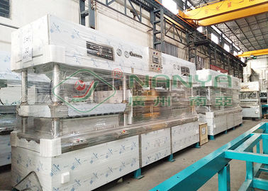 Semi Automatic Paper Pulp Molding Machine Biodegradable Disposable Paper